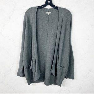 [American Eagle] Classic Gray Knit Cardigan